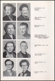 Page 8, 1954 Edition, Centerville Senior High School - Mortonian Yearbook (Centerville, IN) online yearbook collection