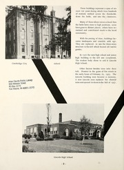 Page 6, 1961 Edition, Lincoln High School - Muse Yearbook (Cambridge City, IN) online yearbook collection