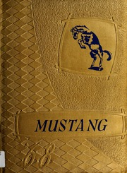1968 Edition, Oologah High School - Mustang Yearbook (Oologah, OK)