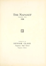 Page 5, 1928 Edition, Nappanee High School - Napanet Yearbook (Nappanee, IN) online yearbook collection