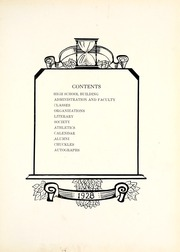 Page 7, 1928 Edition, Nappanee High School - Napanet Yearbook (Nappanee, IN) online yearbook collection