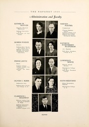 Page 15, 1935 Edition, Nappanee High School - Napanet Yearbook (Nappanee, IN) online yearbook collection