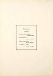 Page 6, 1935 Edition, Nappanee High School - Napanet Yearbook (Nappanee, IN) online yearbook collection
