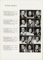 Page 16, 1945 Edition, Nappanee High School - Napanet Yearbook (Nappanee, IN) online yearbook collection