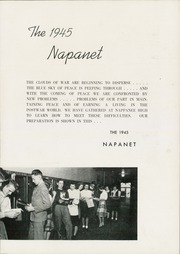 Page 7, 1945 Edition, Nappanee High School - Napanet Yearbook (Nappanee, IN) online yearbook collection