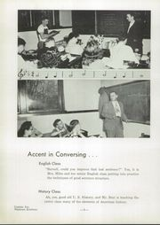 Page 10, 1951 Edition, Nappanee High School - Napanet Yearbook (Nappanee, IN) online yearbook collection