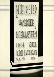 Page 7, 1934 Edition, Northwestern High School - Norwester Yearbook (Detroit, MI) online yearbook collection