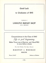 Page 128, 1945 Edition, Muskegon Heights High School - Oaks Yearbook (Muskegon Heights, MI) online yearbook collection