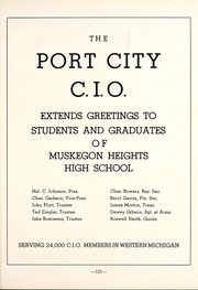 Page 135, 1945 Edition, Muskegon Heights High School - Oaks Yearbook (Muskegon Heights, MI) online yearbook collection