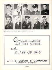 Page 136, 1945 Edition, Muskegon Heights High School - Oaks Yearbook (Muskegon Heights, MI) online yearbook collection