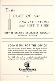Page 141, 1945 Edition, Muskegon Heights High School - Oaks Yearbook (Muskegon Heights, MI) online yearbook collection