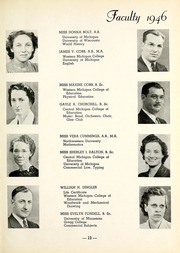 Page 17, 1946 Edition, Muskegon Heights High School - Oaks Yearbook (Muskegon Heights, MI) online yearbook collection
