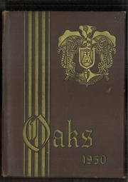Page 1, 1950 Edition, Muskegon Heights High School - Oaks Yearbook (Muskegon Heights, MI) online yearbook collection