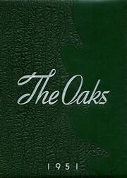 1951 Edition, Muskegon Heights High School - Oaks Yearbook (Muskegon Heights, MI)