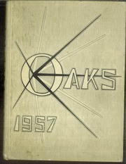 1957 Edition, Muskegon Heights High School - Oaks Yearbook (Muskegon Heights, MI)