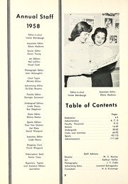 Page 6, 1958 Edition, Muskegon Heights High School - Oaks Yearbook (Muskegon Heights, MI) online yearbook collection