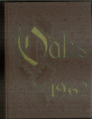 1962 Edition, Muskegon Heights High School - Oaks Yearbook (Muskegon Heights, MI)