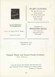 Page 127, 1962 Edition, Muskegon Heights High School - Oaks Yearbook (Muskegon Heights, MI) online yearbook collection