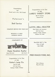 Page 134, 1962 Edition, Muskegon Heights High School - Oaks Yearbook (Muskegon Heights, MI) online yearbook collection
