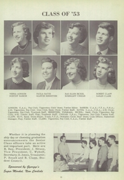 Page 15, 1953 Edition, New Carlisle High School - Olive Branch Yearbook (New Carlisle, IN) online yearbook collection