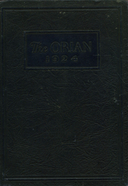 Page 1, 1924 Edition, Marietta High School - Orian Yearbook (Marietta, OH) online yearbook collection