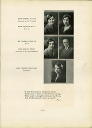 Page 19, 1930 Edition, Marietta High School - Orian Yearbook (Marietta, OH) online yearbook collection