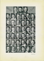 Page 11, 1939 Edition, Marietta High School - Orian Yearbook (Marietta, OH) online yearbook collection