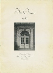 Page 5, 1939 Edition, Marietta High School - Orian Yearbook (Marietta, OH) online yearbook collection