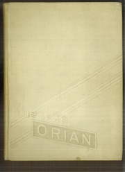 Page 1, 1940 Edition, Marietta High School - Orian Yearbook (Marietta, OH) online yearbook collection