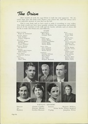 Page 10, 1940 Edition, Marietta High School - Orian Yearbook (Marietta, OH) online yearbook collection