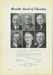 Page 14, 1940 Edition, Marietta High School - Orian Yearbook (Marietta, OH) online yearbook collection
