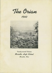 Page 5, 1940 Edition, Marietta High School - Orian Yearbook (Marietta, OH) online yearbook collection