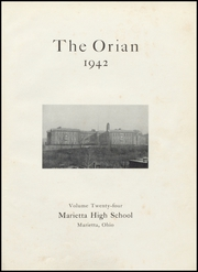 Page 5, 1942 Edition, Marietta High School - Orian Yearbook (Marietta, OH) online yearbook collection