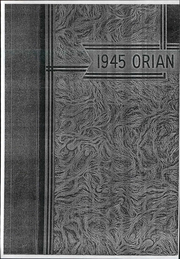 Marietta High School - Orian Yearbook (Marietta, OH) online yearbook collection, 1945 Edition, Page 1