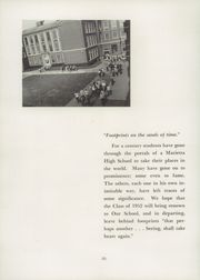 Page 6, 1952 Edition, Marietta High School - Orian Yearbook (Marietta, OH) online yearbook collection