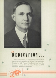 Page 10, 1939 Edition, R L Paschal High School - Panther Yearbook (Fort Worth, TX) online yearbook collection