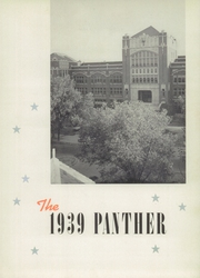 Page 7, 1939 Edition, R L Paschal High School - Panther Yearbook (Fort Worth, TX) online yearbook collection