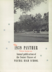 Page 9, 1939 Edition, R L Paschal High School - Panther Yearbook (Fort Worth, TX) online yearbook collection