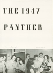 Page 7, 1947 Edition, R L Paschal High School - Panther Yearbook (Fort Worth, TX) online yearbook collection
