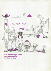 Page 5, 1958 Edition, R L Paschal High School - Panther Yearbook (Fort Worth, TX) online yearbook collection