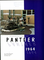 Page 5, 1964 Edition, R L Paschal High School - Panther Yearbook (Fort Worth, TX) online yearbook collection
