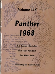 Page 5, 1968 Edition, R L Paschal High School - Panther Yearbook (Fort Worth, TX) online yearbook collection