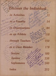 Page 7, 1968 Edition, R L Paschal High School - Panther Yearbook (Fort Worth, TX) online yearbook collection