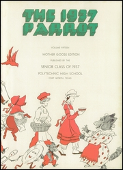 Page 7, 1937 Edition, Polytechnic High School - Parrot Yearbook (Fort Worth, TX) online yearbook collection