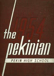 Page 1, 1954 Edition, Pekin High School - Pekinian Yearbook (Pekin, IL) online yearbook collection