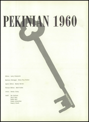 Page 5, 1960 Edition, Pekin High School - Pekinian Yearbook (Pekin, IL) online yearbook collection