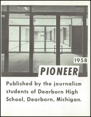 Page 5, 1958 Edition, Dearborn High School - Pioneer Yearbook (Dearborn, MI) online yearbook collection