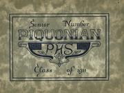 Piqua Central High School - Piquonian Yearbook (Piqua, OH) online yearbook collection, 1911 Edition, Page 1