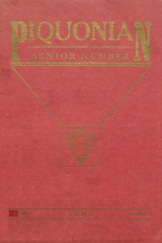 Piqua Central High School - Piquonian Yearbook (Piqua, OH) online yearbook collection, 1912 Edition, Page 1