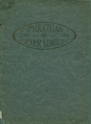 Piqua Central High School - Piquonian Yearbook (Piqua, OH) online yearbook collection, 1915 Edition, Page 1